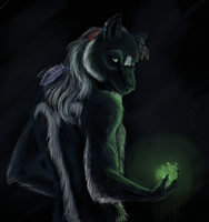 In night silence by Inereigan