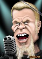 James Hetfield (Metallica) by Jalpal