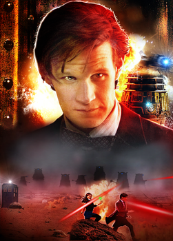 Doctor Who: The Revolution of the Daleks by Esterath13