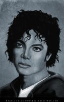 michael jackson portrait 2 by magaliB