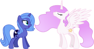 Tia! You're an 'Alicorn'! by missgoldendragon