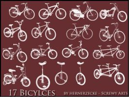 Bicycles by hernerzecke