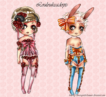 Adoptable batch No. 3 [Open] by Louloukeadopts