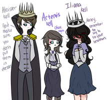 The Family Is Here! (Ask and Rp-able) by Ask-TheKingofGames
