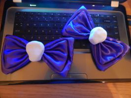Ebony Bloodrose Bow Progress by MochiFairy