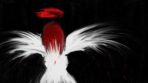 Red Angel by rayna23