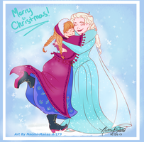 It wouldn't be Christmas without you! by naomi-makes-art73