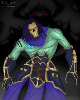 Death Darksiders 2 by keyholestyle