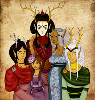 The Royal Family of Cervinus by k-o-j-i