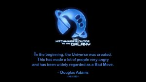 Douglas Adams Quote by RSeer