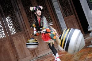 Guan YinPing! Let's fight! ~ by maocosplay