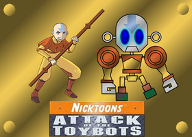 AANG AND AANGBOT by mayozilla