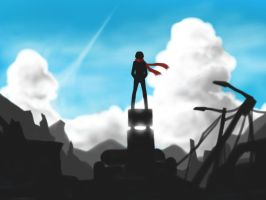 The Undefiled Sky - Sketch by Dreamension96