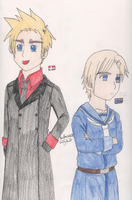 APH : Denmark and Norway by SwiftNinja91