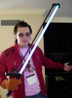 Travis Touchdown Cosplay by elwoodblues6389