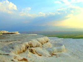 Pamukkale, Turkey by TheAncientDance