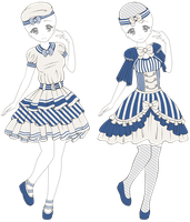 Sailor Lolita Outfit Adoptable - Closed by mystical-dust