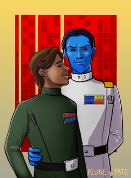 Thrawn and Eli...erm. by FlukeOfFate
