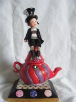 Mad Hatters Teapot by Fairykist
