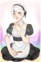Maid by Cuppehcakez