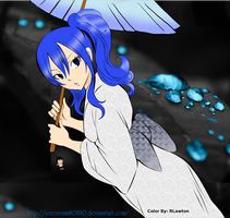 Juvia Lockser~ Raindrops by RLawt0n