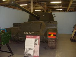 archer,self-propelled 17 pdr, tank museum by drshaggy