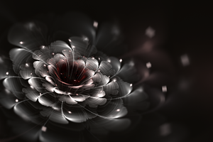 1ooo-fractal-brushed blossom by sewer-pancake