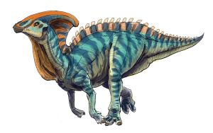 30 Day Dino - Parasaurolophus by Art-Minion-Andrew0