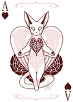 Ace of Hearts by IridescentMirage