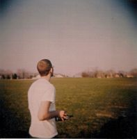A Man and His Plane Revisited by Lomo440