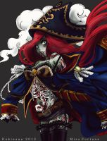 Harrowing Miss Fortune by dokinana