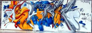 meltin hip hop evente by Weik