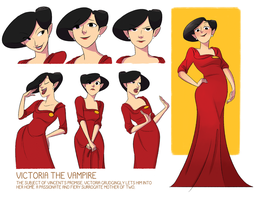 Vicky character sheet by Tiuni