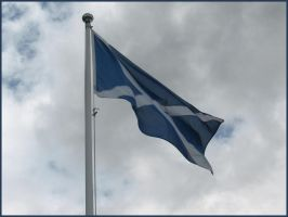 Scottish Flag by ZCochrane