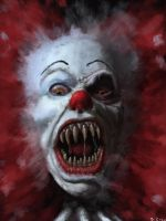Clowns Abound by ChristopherCrow