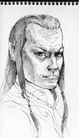 Elrond by Paskhalidi