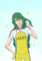 Happy birthday makishima-san by tehchibipanda