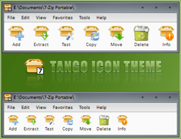 7-Zip Tango Icon Theme by RudeBoySes