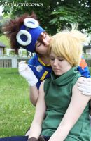 Don't be sad Yamato... It's gonna be okay! by cosplayprincesses