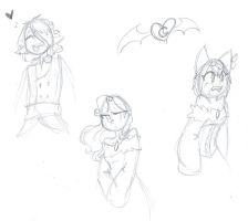 Character doodles by 2devils