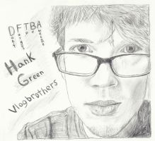 Hank Green Sketch by MagicalMayhem7
