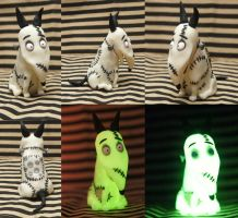 Glow-in-the-dark Sparky from Frankenweenie by Cervs