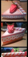 Origami Cake by Gotherika