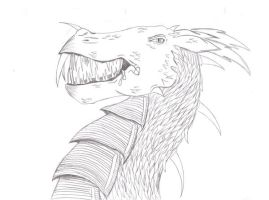 Snarling Dragon by Inemiset
