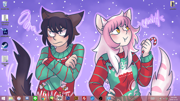 December 2016 Support Wallpaper by ClefdeSoll