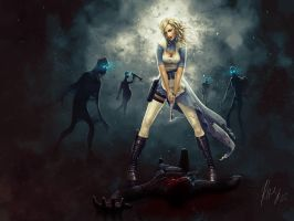 Alice in Dead Land by RaffaelePicca
