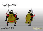 Blazing Samurai Model Ninja Master Tobe by Christopia1984