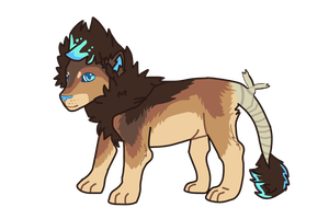 NEW LION OC~ RAEVON by tiqeress