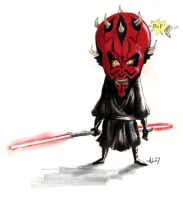 Maul by bangalore-monkey