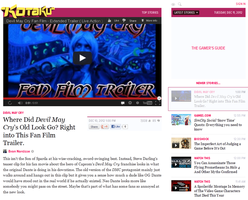 FEATURED ON KOTAKU: New Devil May Cry Fan Film by Pharaohmones